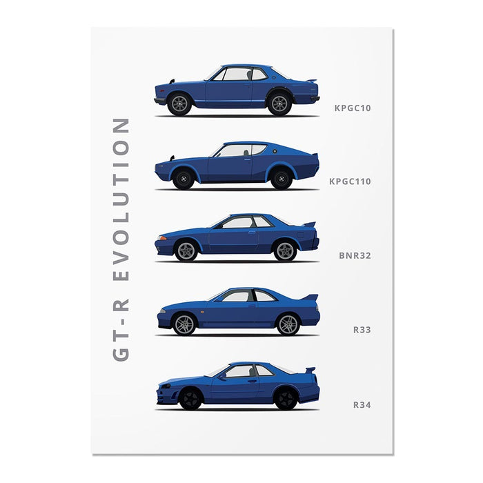 Nissan Skyline Generations Poster