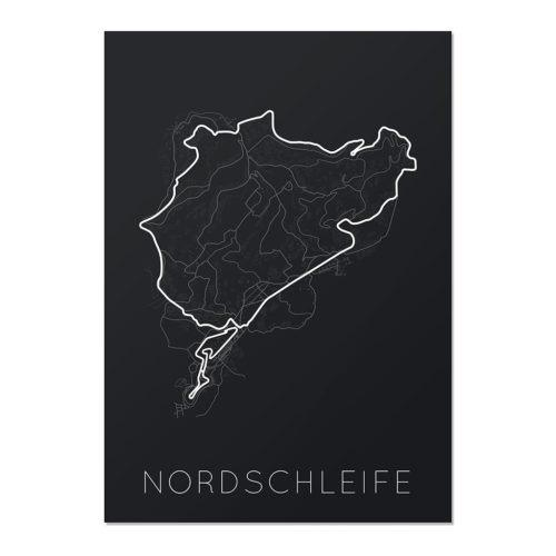 The Green Hell – Nordschleife Unframed Poster