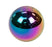 NRG Ball Style Shift Knob Multi-Color 5 Speed Pattern Universal