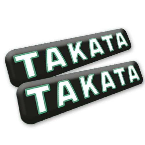 TAKATA 3D Badge Set