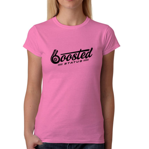 Boosted Status Ladies T-Shirt - Pink