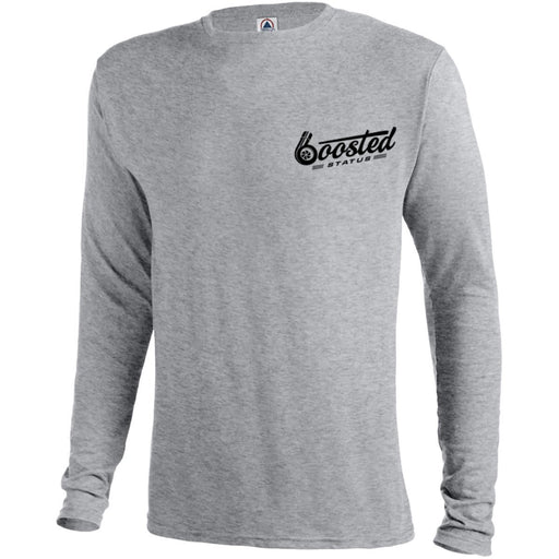 Boosted Status Long Sleeve Performance Tee - Gray
