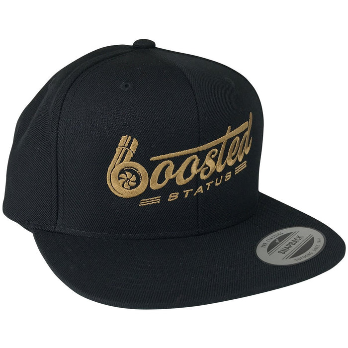 Boosted Status Snapback Hat - OG Gold