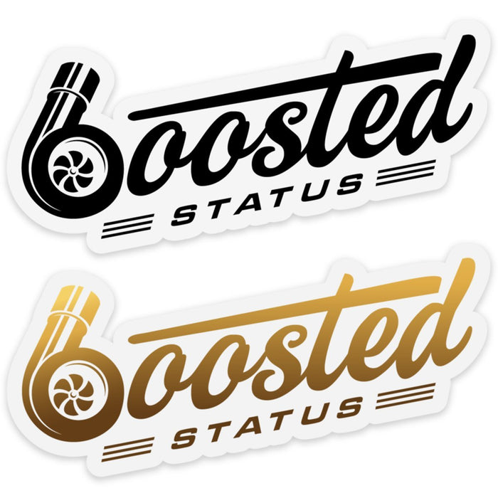 Boosted Status Decal