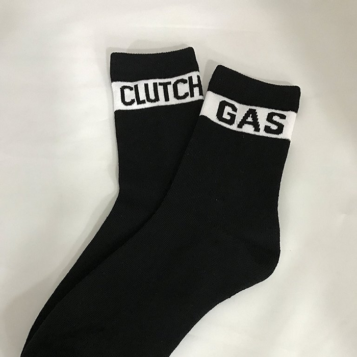 Clutch Gas Mid Length Socks