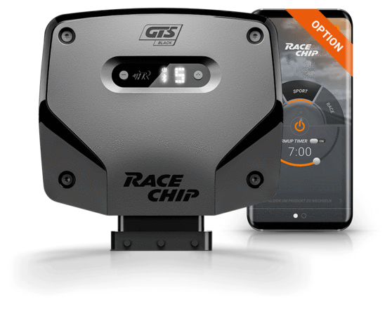 RaceChip GTS Black with App Control Tuning Box for Mercedes-Benz C-Class (W/S205)