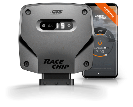 RaceChip GTS with App Control Tuning Box for Mercedes-Benz E-Class (W/S212, A/C207)
