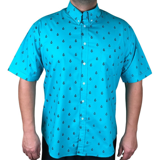 Boosted Status Turbo Button-Front Shirt - Teal