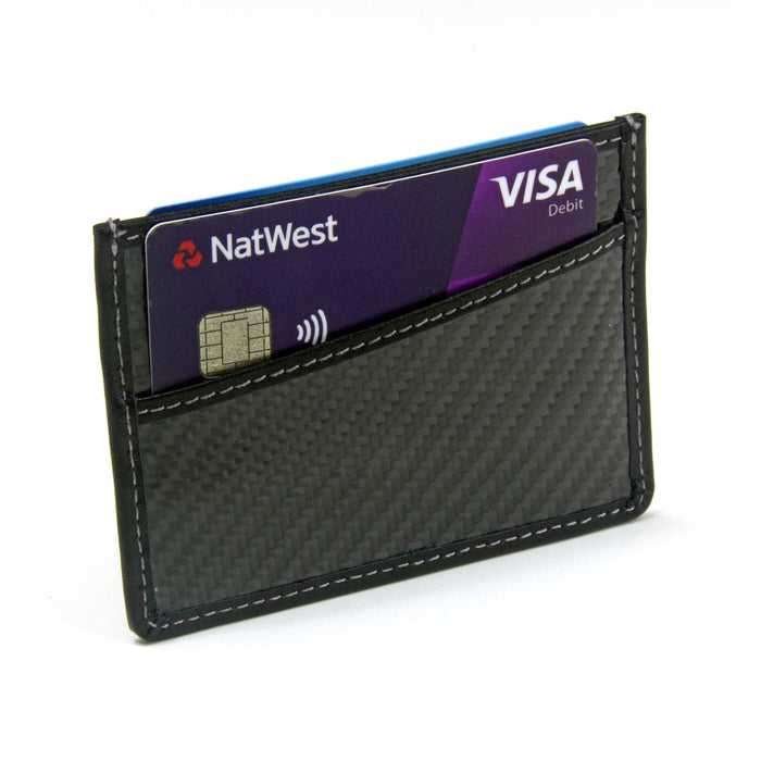 Carbon Fibre Card Wallet