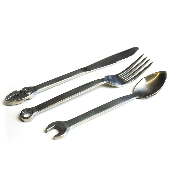 Wrenchware 3-Piece Stainless Steel Cutlery Set