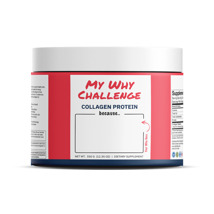 My Why Challenge Collagen Protein