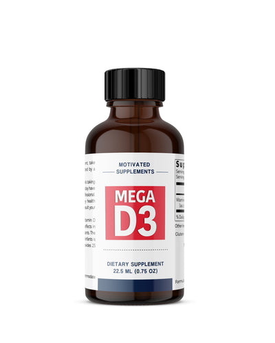 MEGA Vitamin D3 (MEGA DOSE 3 Month Supply)