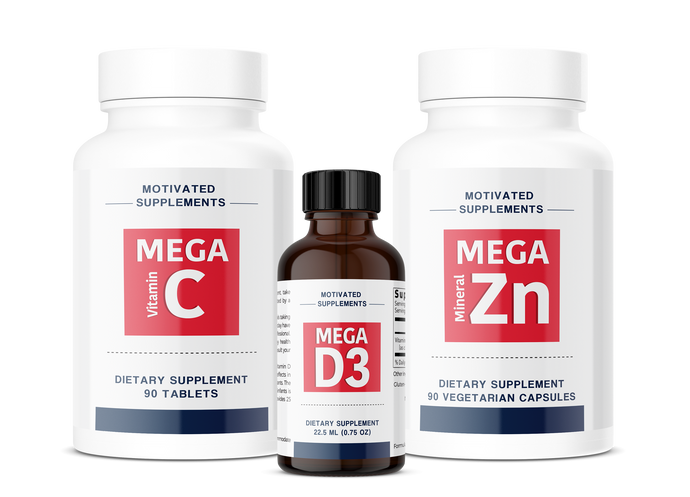 MEGA Bundle (D,C,Zn) 3 Month Supply 10% Off!