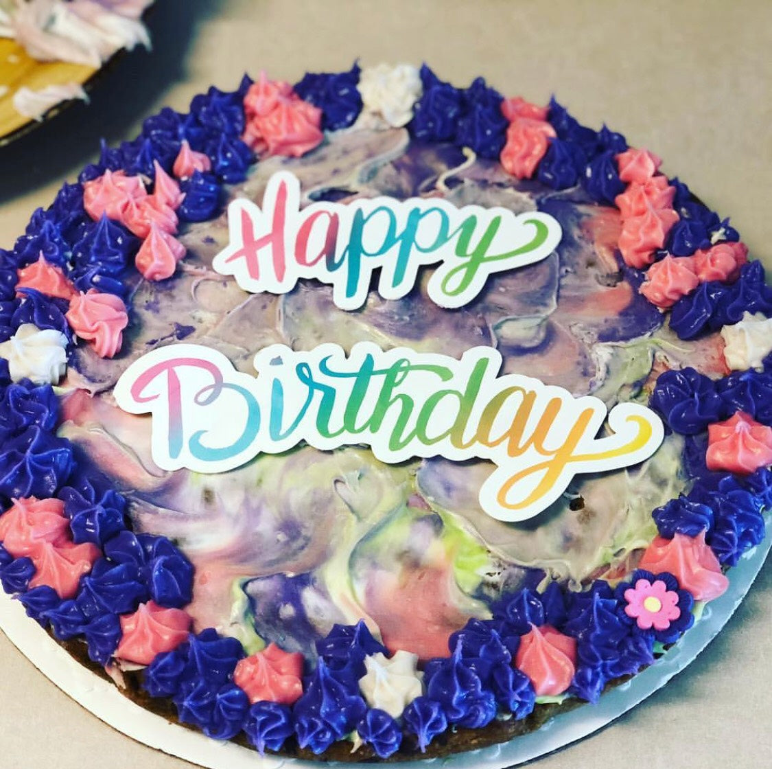 Fantastic Cookie Cakes The Good Cookie Personalised Birthday Cards Cominlily Jamesorg