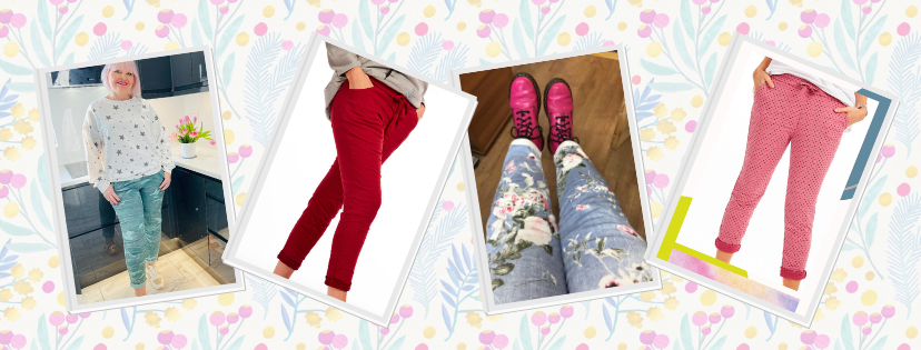 Joggers - ultimate stylish clothes for over fifties at Euphoria Boutique