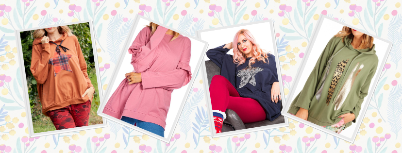 Oversized Hoodies - stylish clothing for over fifties at Euphoria Boutique