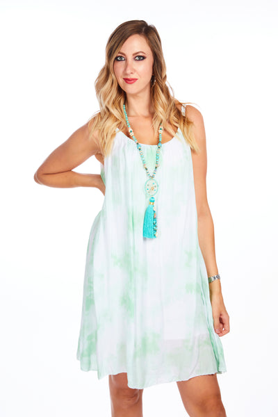 Cloud nine summer dress - Lime