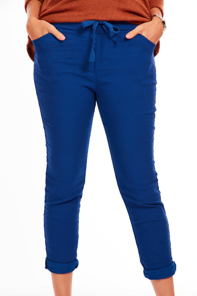 Magical stretch trousers - Galaxy Blue