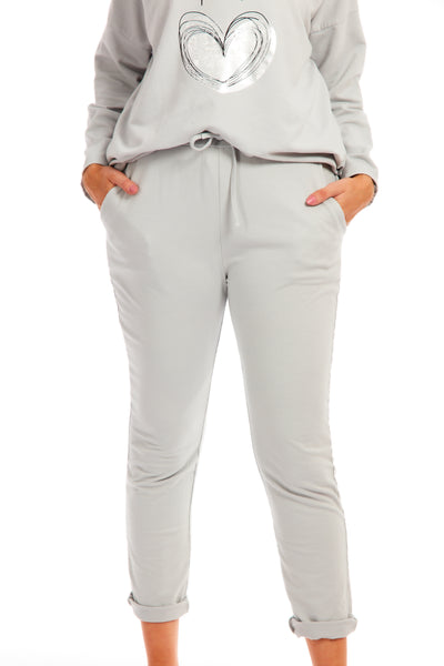 Pippa lounge joggers - Light Grey