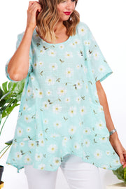 Doris Daisy cotton top - Mint