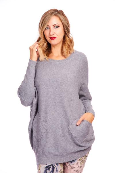 Lucy luxe super soft knit - Grey