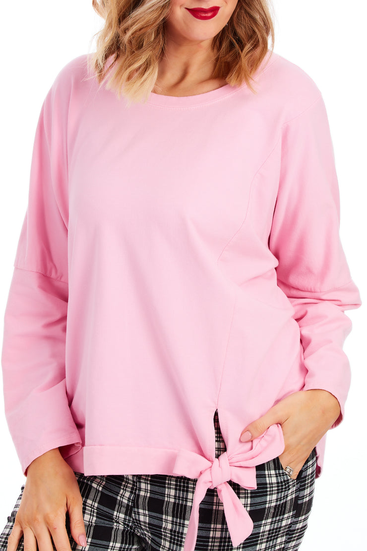 Captivate loose fit sweater - Candyfloss Pink