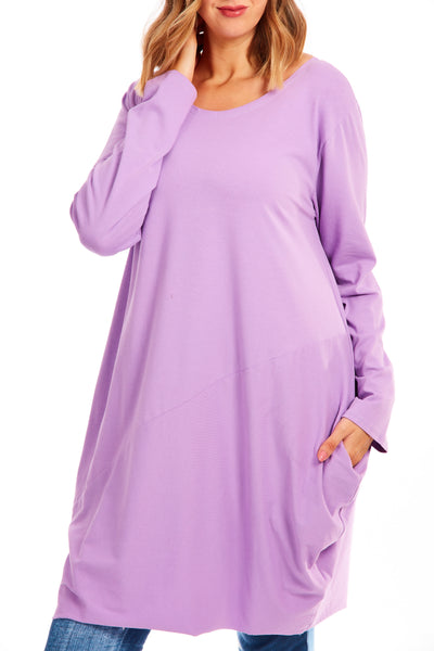 Midnight hour tunic dress - Lilac