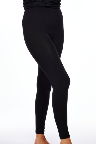 Magic fleece leggings - Black