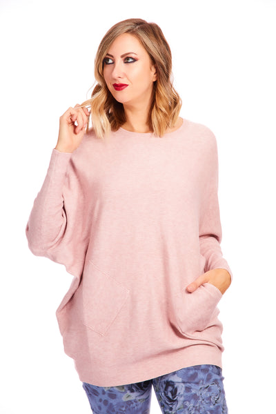 Lucy luxe super soft knit - Pink