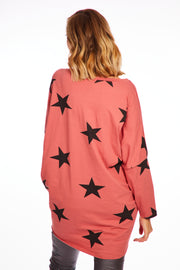 Starry night tunic - Peach
