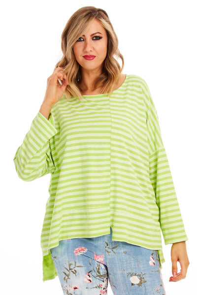 Seaside stripes - Lime