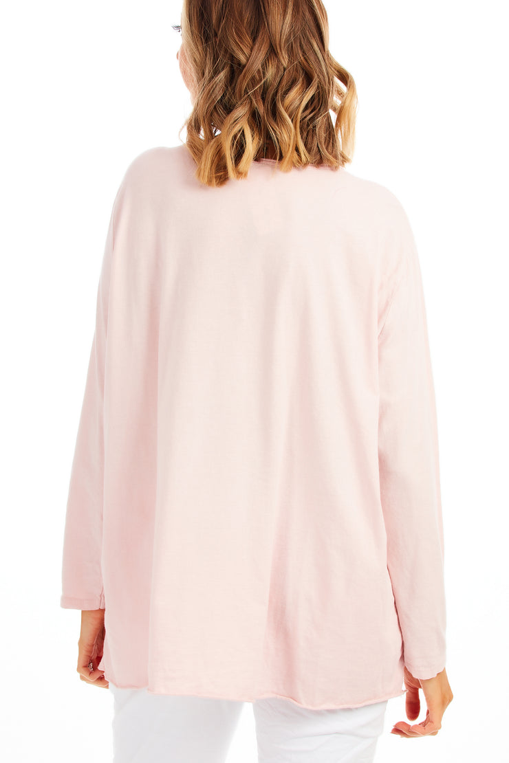 Lexi loose fit top - Pink