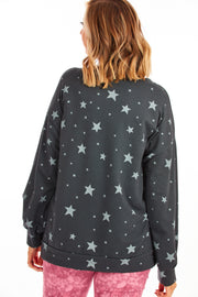 Manifesting star sweater - Charcoal