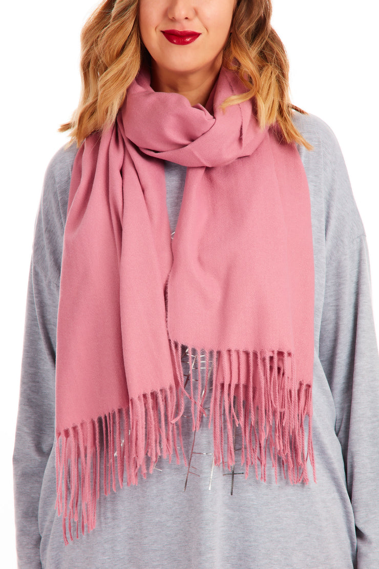 Euphoria pop of colour blanket scarf - Various colours
