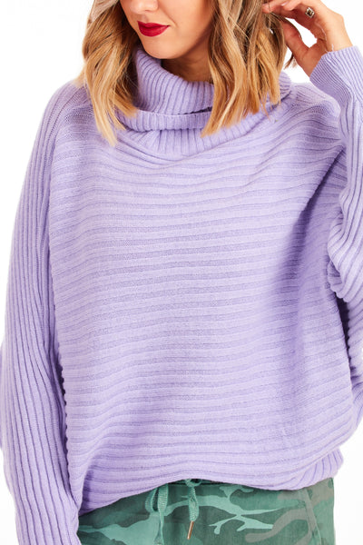 Icecream luxe knit - Lilac