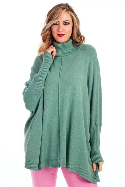 Heavenly premium knit - Teal Green