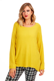 Ruby ribbed knit - Yellow