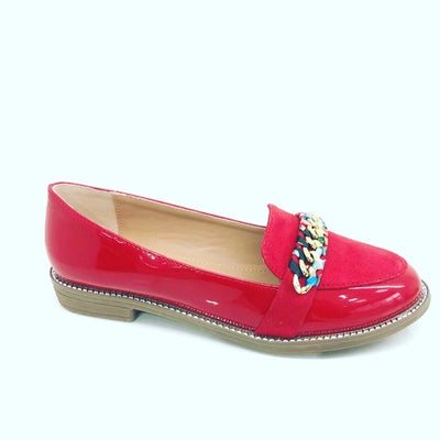 Bobby loafers - Raspberry
