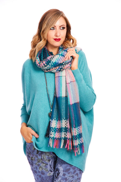 Lucia Luxe soft knit - Teal