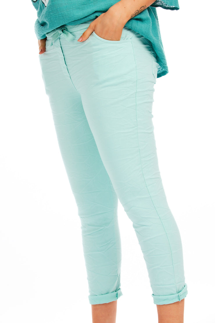 Magical stretch trousers  - Mint