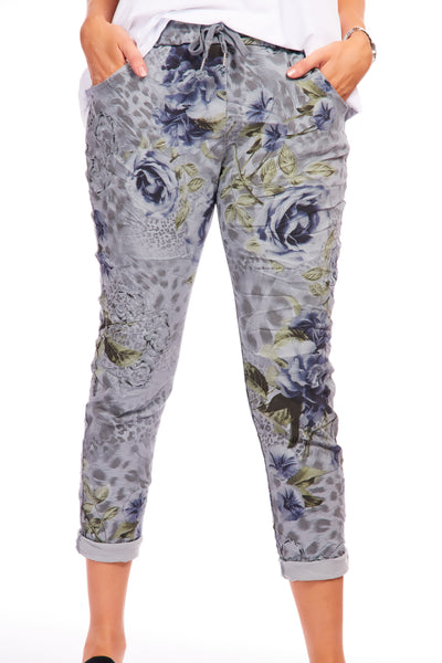 Magical stretch trousers - Aspen Grey