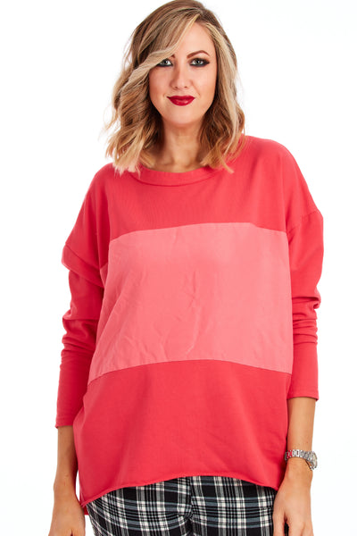Spellbound sweater - Raspberry Coral