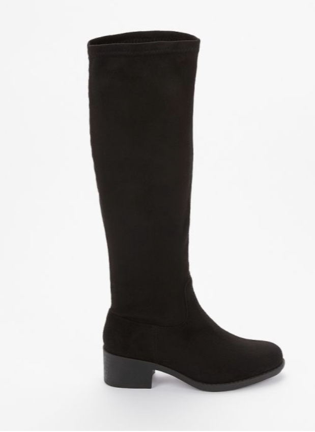 Stretch boots - WIDE FIT