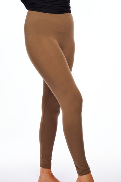 Magic fleece leggings - Caramel