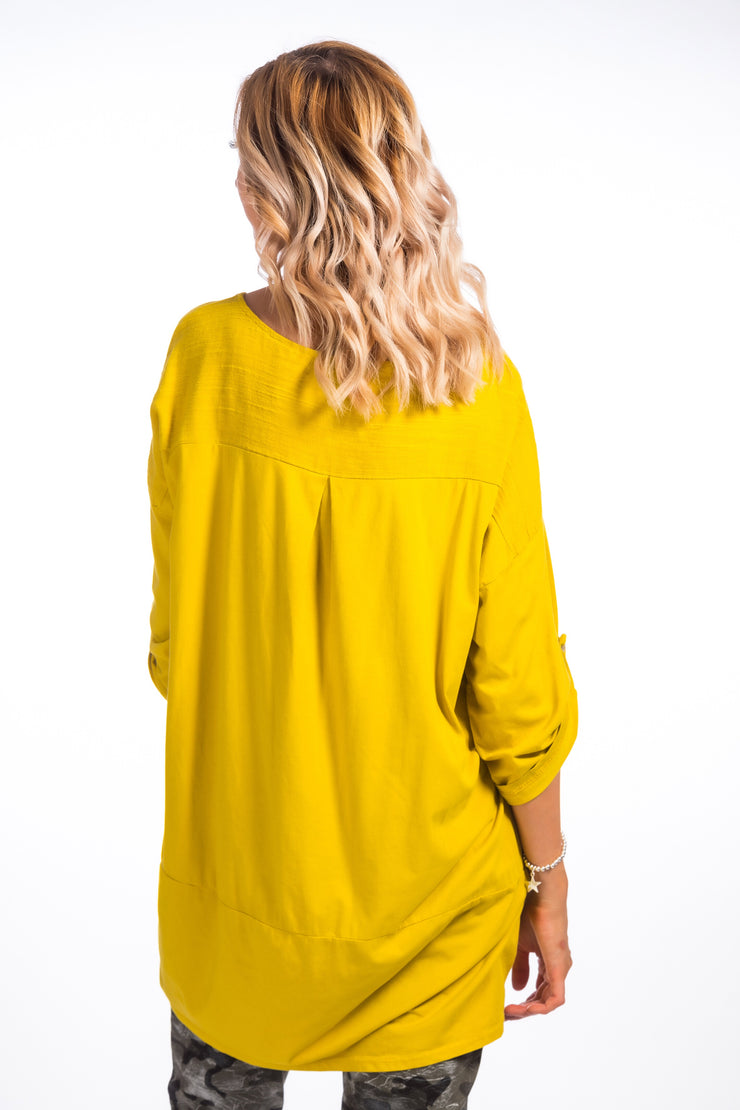 Ruth Loose fit top -  Citrus