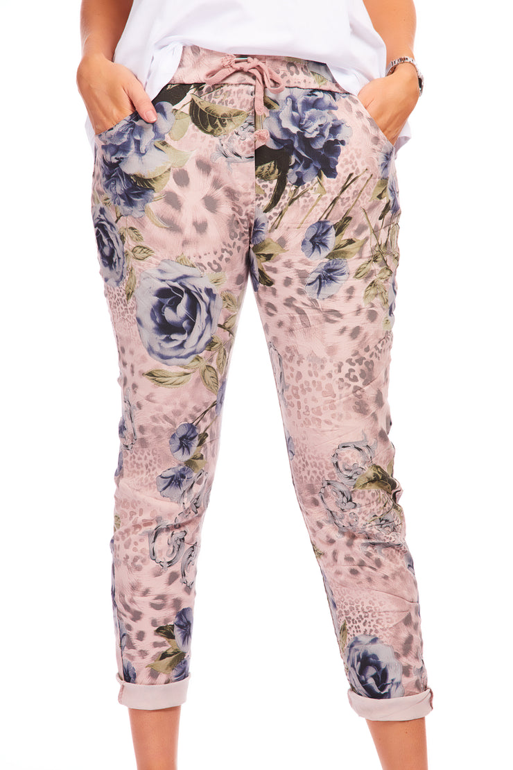 Magical stretch trousers - Aspen Pink