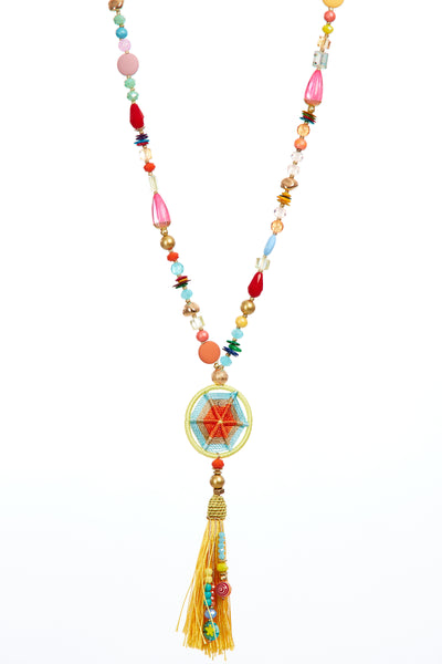 Jane tassel chain - Multi
