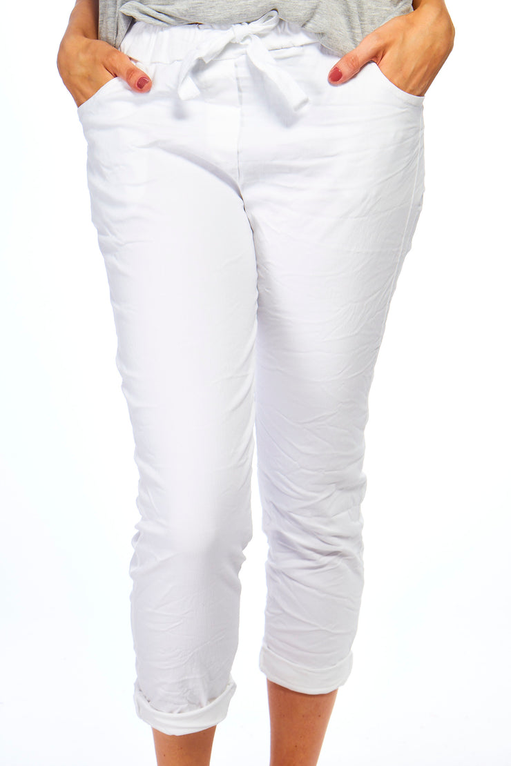 Magical stretch trousers  - White
