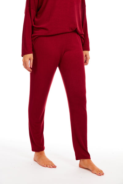 Capital Cosy 2 piece lounge set - Maroon
