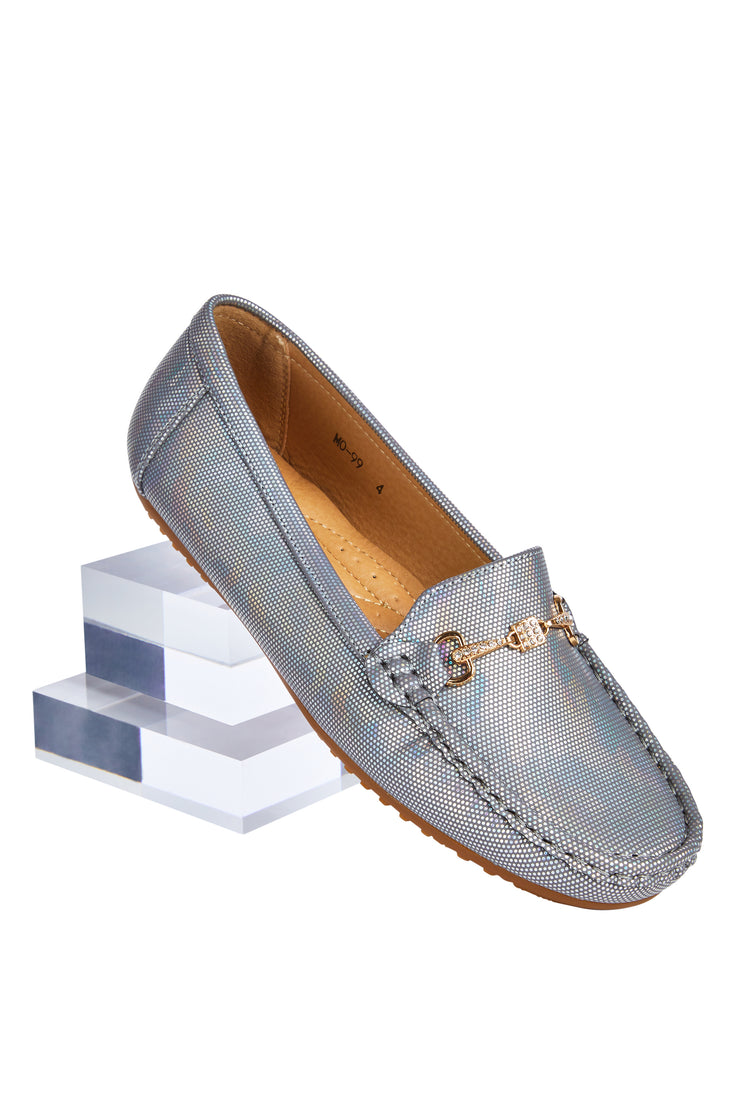 Comfort loafers - Unicorn Silver